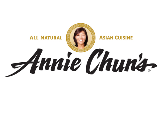 natural asian food logo design - annie chun's