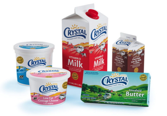 Dairy Products Packaging Design Family