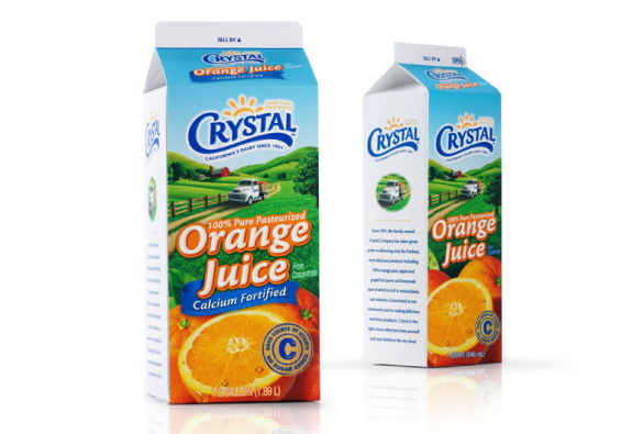 Orange Juice Package Design - Beverage Packaging Design